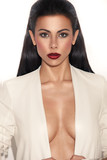 Glamorous Woman With Plunging Neckline poster