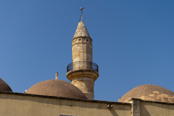 Turkish Mosque in Rethymno Crete Greece