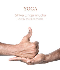 Yoga shiva linga mudra
