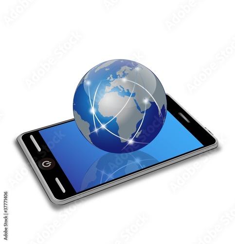 wektor-smartphone-i-ziemia