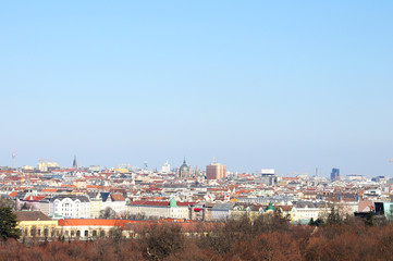 Panorama of Vienna. Austria