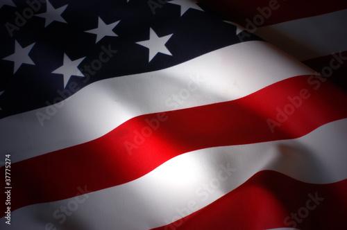 Leinwandbild Motiv flag