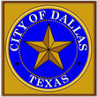 usa states county city dallas emblem coat seal