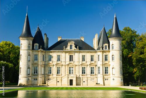 Leinwanddruck Bild Chateau Pichon Longueville