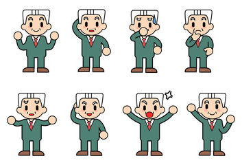Collection of expressions of the president