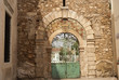 Ancient Gate to School in Rethymno Crete