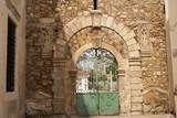 Ancient Gate to School in Rethymno Crete