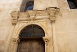 Old Ornate Doorway in Rethymno Crete