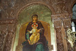 Icon in little Orthodox Chapel in Rethymno Crete