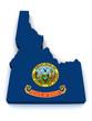 3D Map of Idaho