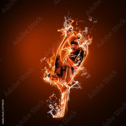 Fototapeten,feuer,flamme,glühend,person