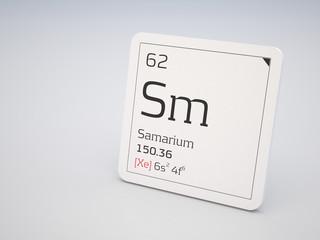Samarium - element of the periodic table