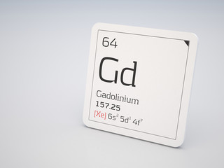 Gadolinium - element of the periodic table