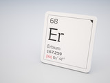 Erbium - element of the periodic table