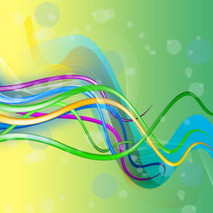 Colourful abstract illustration background