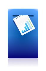 mailing business documents concept illustration design