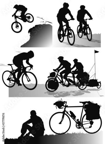 Sports - Vélo vect