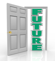 Future Door Opens to New Opportunity Hope and Good Things