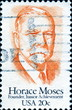 Horace Moses. Junior Achievement. US Postage.