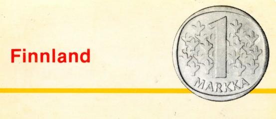 1 markka (Finland)