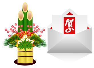 門松とメール