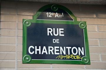 rue de charenton à Paris
