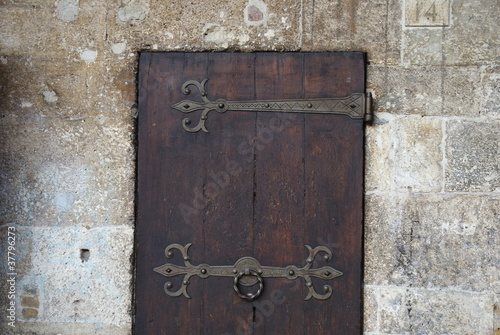 door of the town hall, Ascoli Piceno