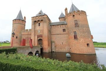Muiderslot Castle of the Netherlands