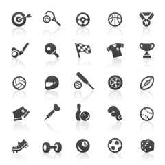 Black Sport Icons