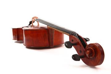 violoncelle à plat