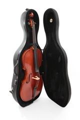 violoncelle - celle dans sa boîte