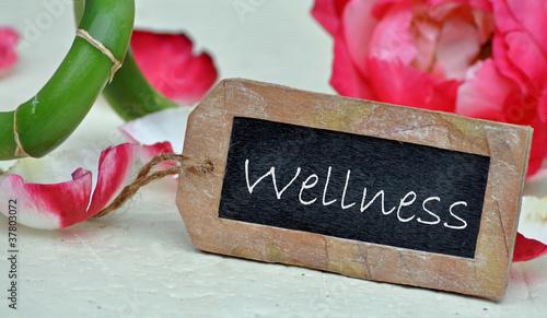 Wellness - Rosenblüten & Bambus