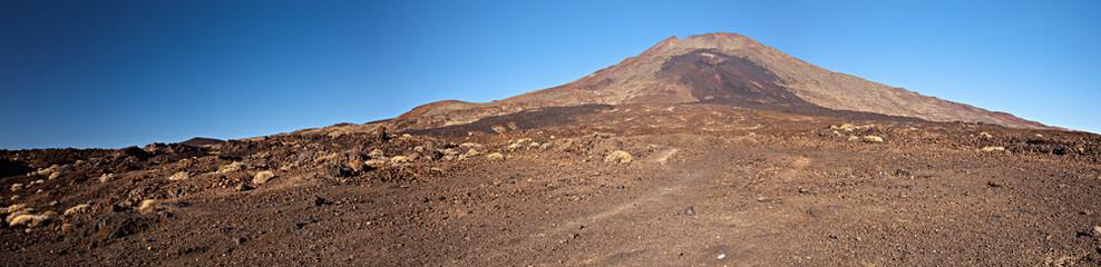 Panorama: Vulkanlandschaft Orotava Teneriffa Spanien
