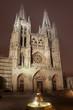 Anochecer en la catedral de Burgos, Castilla y León, España