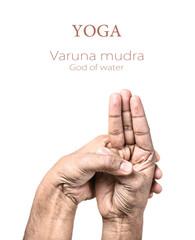 Yoga Varuna mudra
