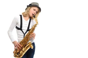 Saxophone artist