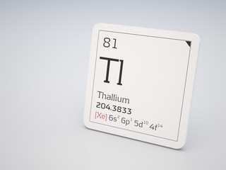 Thallium - element of the periodic table