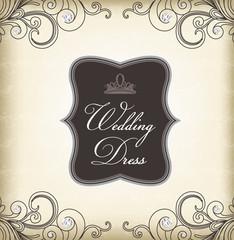 Vintage frame (Wedding Dress)