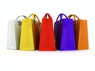 Color paper bag