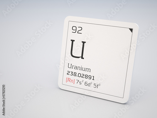 Uranium - element of the periodic table