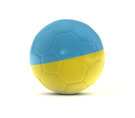 fußball ukraine football 3d