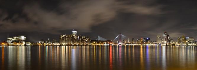 Rotterdam Nachtpanorama