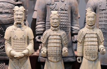 Terracotta warriors (Xian, China)
