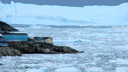 Time lapse Disko Bay Ice Floes, Greenland