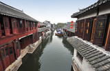 Water town near Suzhou, China