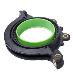 integrated rotary shaft seal with application tool