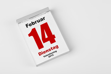 14 Februar 2012 Valentinstag