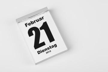 21 Februar 2012