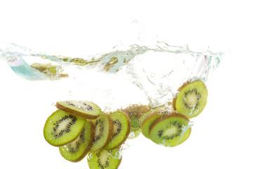 Kiwi In Water