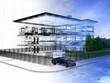 appartamento rendering 3d exterior architettura progetto